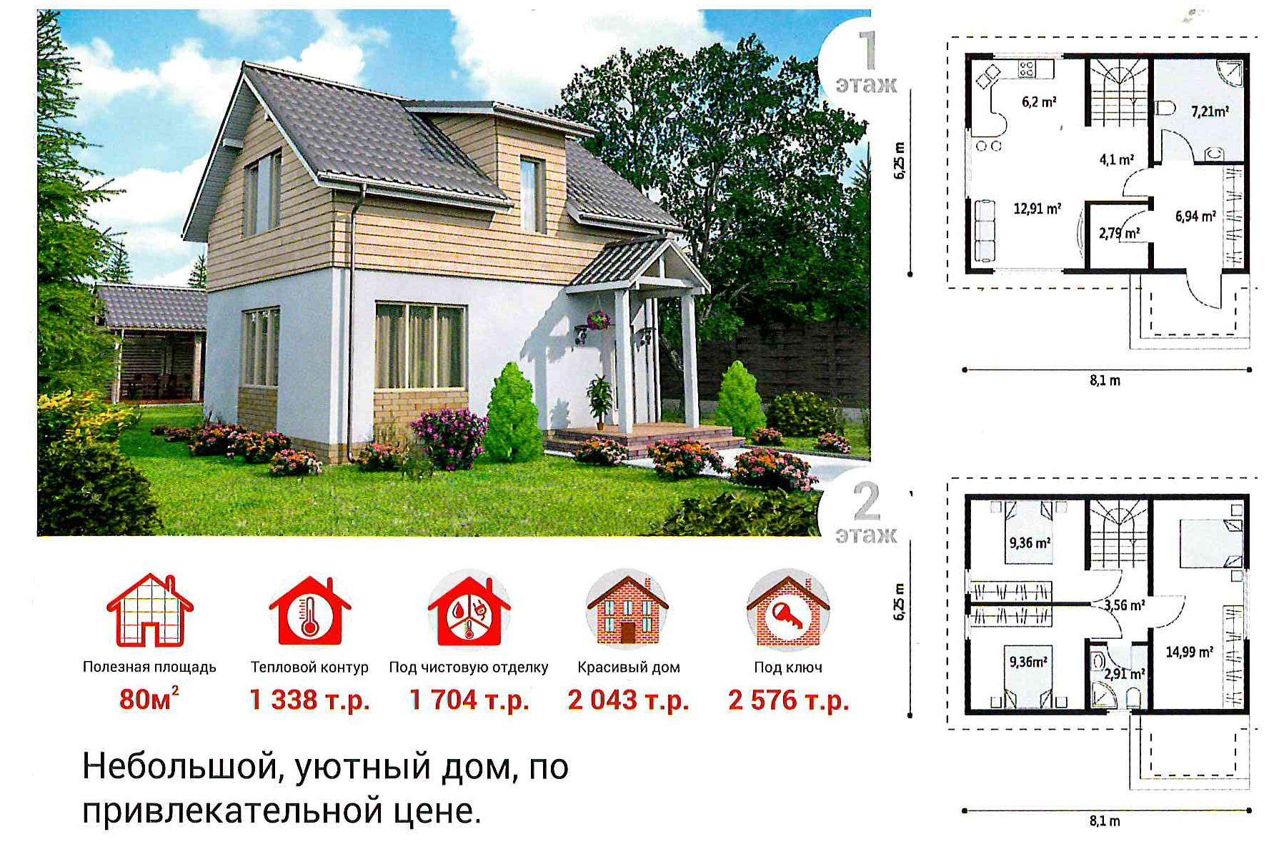 Как построить дом в Новосибирске - бесплатная экскурсия